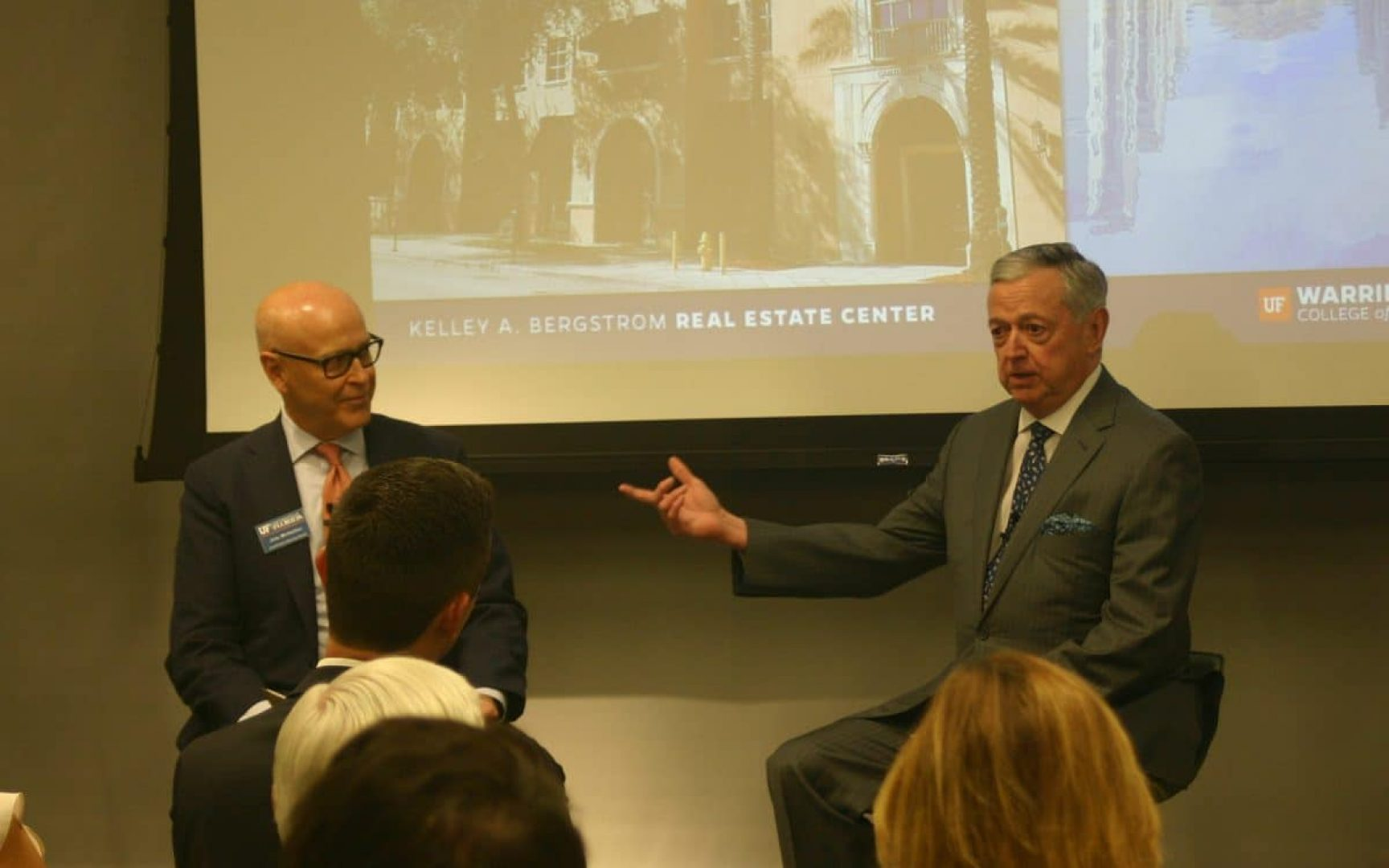 Master of Science in Real Estate students network, learn from prominent Miami developer