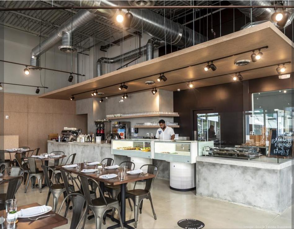 Inside restaurateur Antonio Bachour's first full-service restaurant
