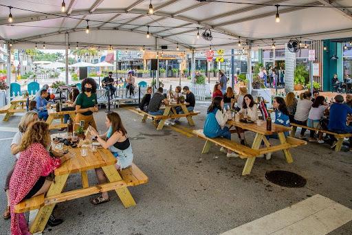 Doral restaurants gain momentum after turning downtown street into a pedestrian walkway