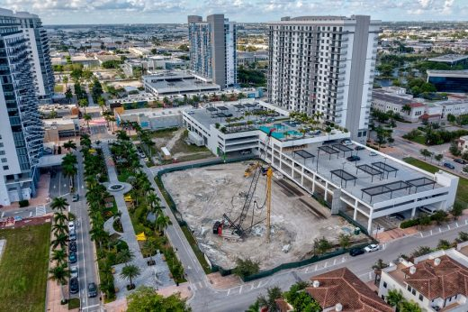 Codina breaks ground on Downtown Doral apartments